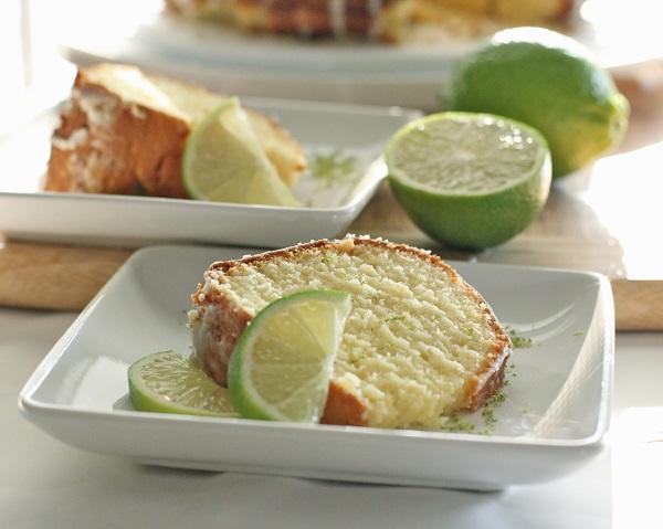 glazed lime pound cake recipe keylime