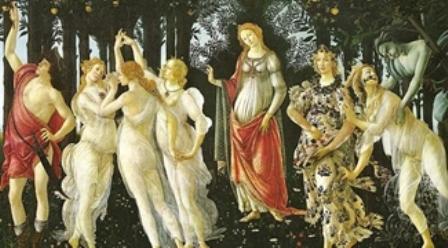 -------------------σάντρο-μποττιτσέλλι.-αλληγορία-της-άνοιξης.-1482.-πινακοθήκη-ουφίτσι.-sandro-botticelli-primavera-1482.-uffizi-galery.-public-domain image 3