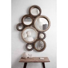 ------------------------------------------------------mirror decoration 14 3