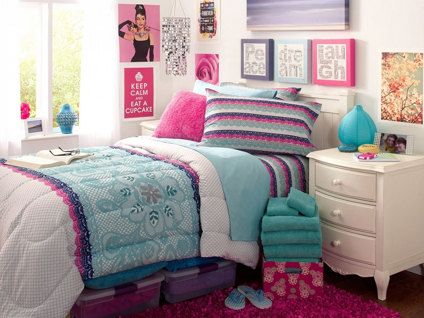 Cute Teenage Girl Bedroom Ideas for Small Rooms