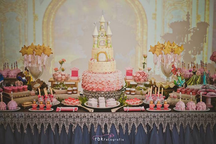 Elegant Princess Birthday Party via Karas Party Ideas KarasPartyIdeas.com14