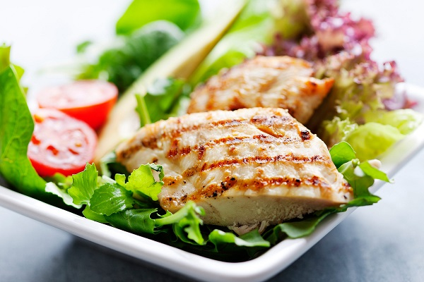 05 salad tricks help lose weight grilled chicken