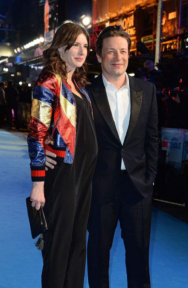 Jools Oliver and Jamie Oliver