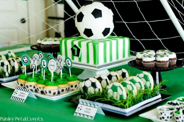 Paisley Petal Events soccer party desserts side 2 600x398