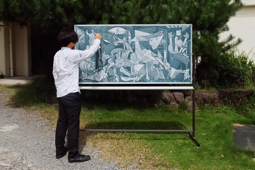 teacher chalkboard art hirotaka hamasaki11