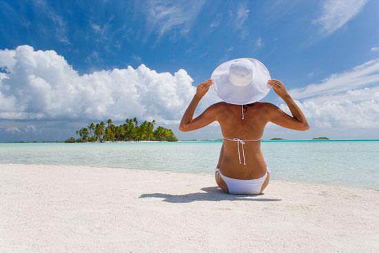 woman beach 2