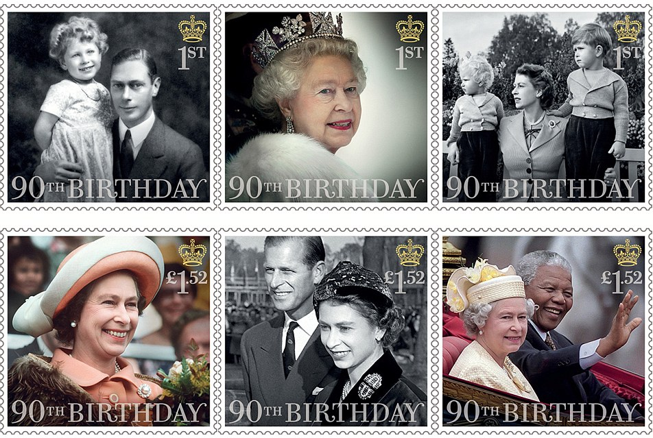 335189C900000578 3548712 Six further stamps pictured have also been released three focusi a 4 1461105206471