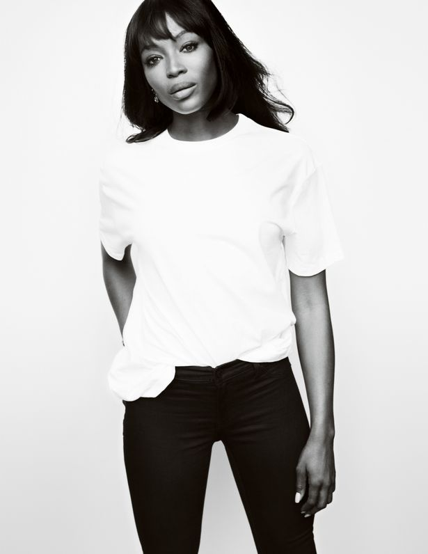 Fashion Targets Breast Cancer handout photo of Naomi Campbell photographed by Mario Testino