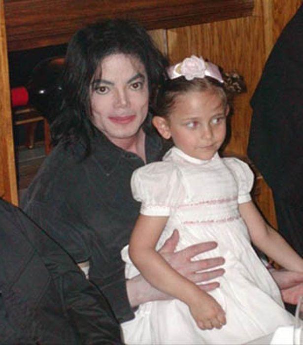 Michael jackson with his daughter Paris Michael Katherine Jackson