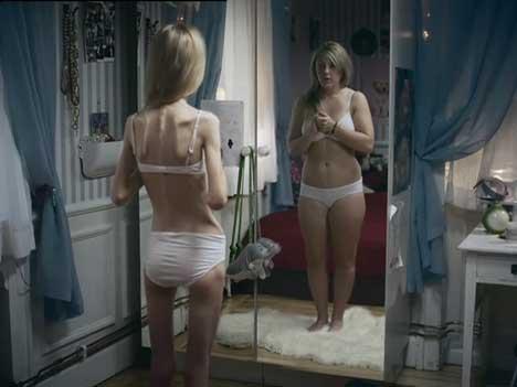 anorexia mirror