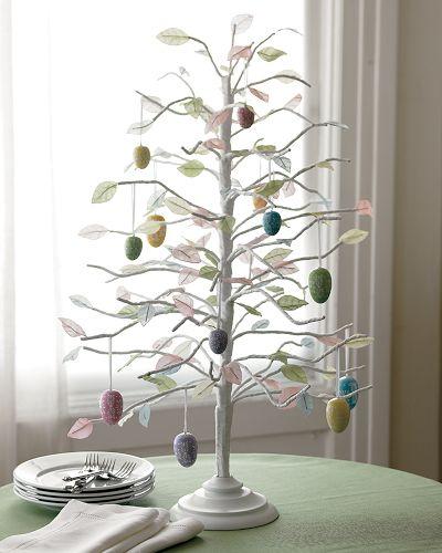 easter tree via theinspiredroom net