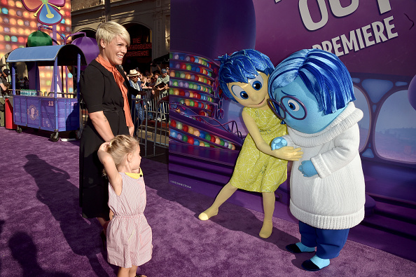 premiere of disney pixars inside out red carpet