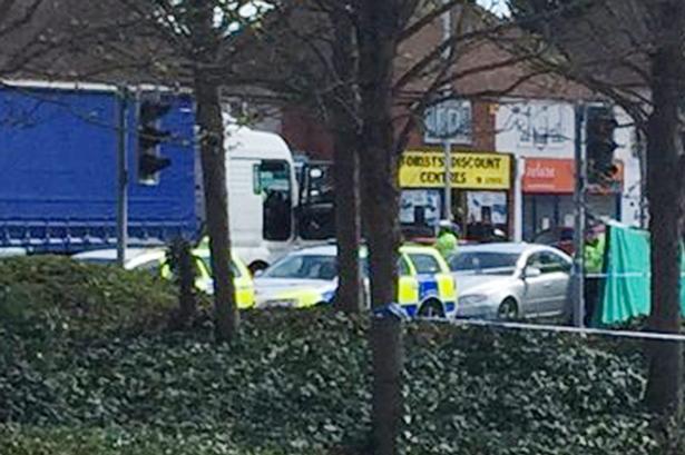 the scene on Basingstoke road 1