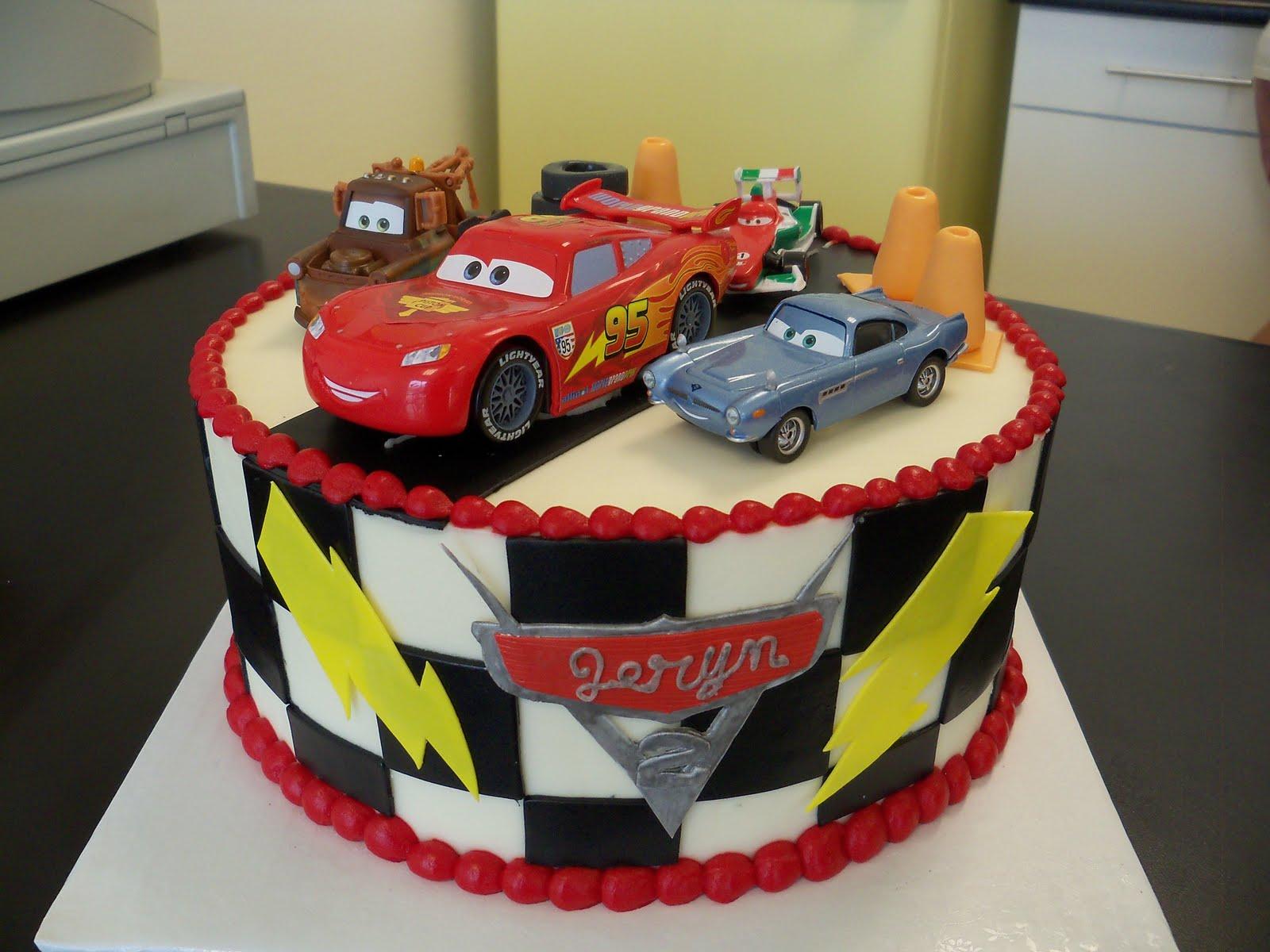 Birthday Cakes For Boys Cars