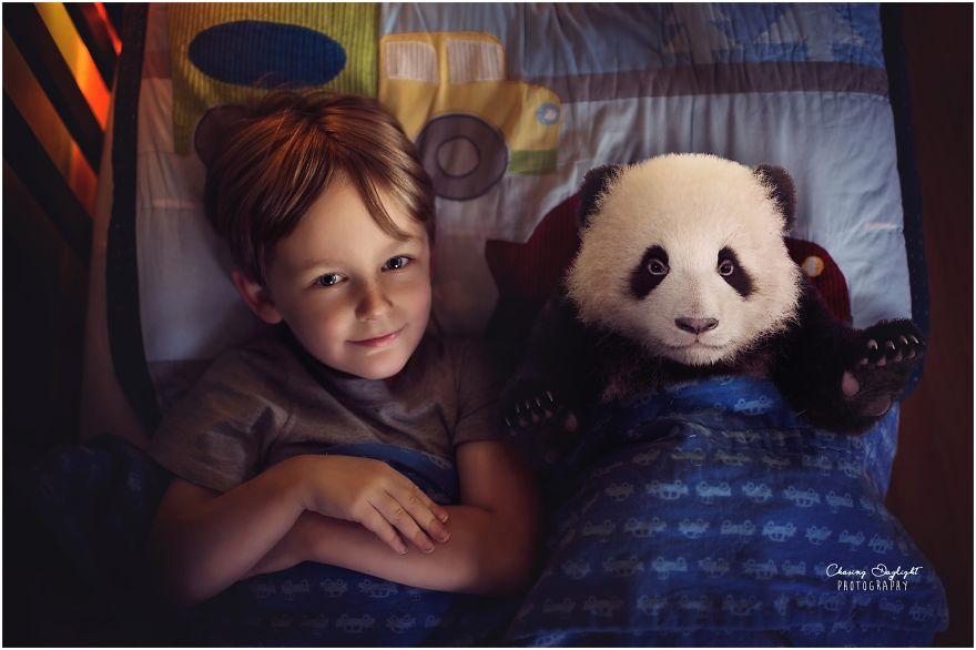i create whimsical portraits of children 9 880