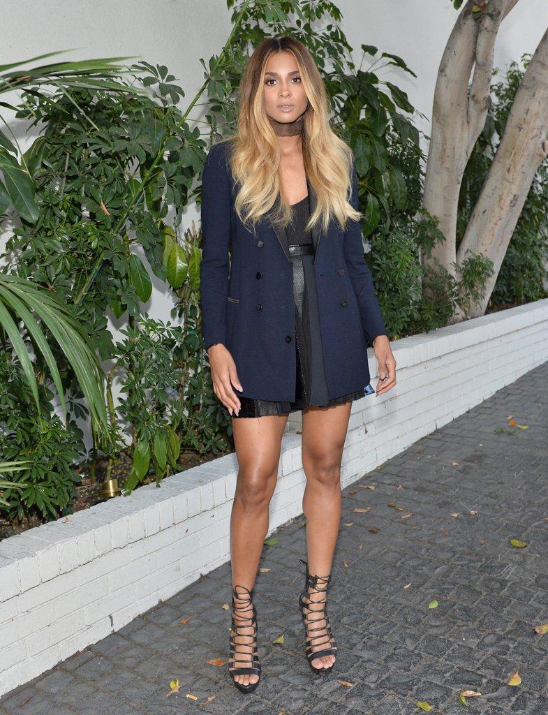 Ciara CFDAVogue Fashion Fund Fashion Show Tea 2016