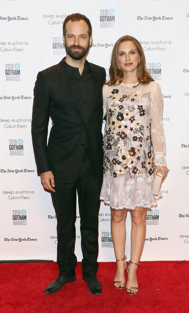 Natalie Portman Benjamin Millepied Gotham Awards 2016
