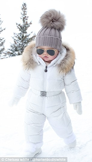 3D64A27100000578 4238506 Ice ice baby No one looked as good as me on the ski slopes in As a 39 1487462812722