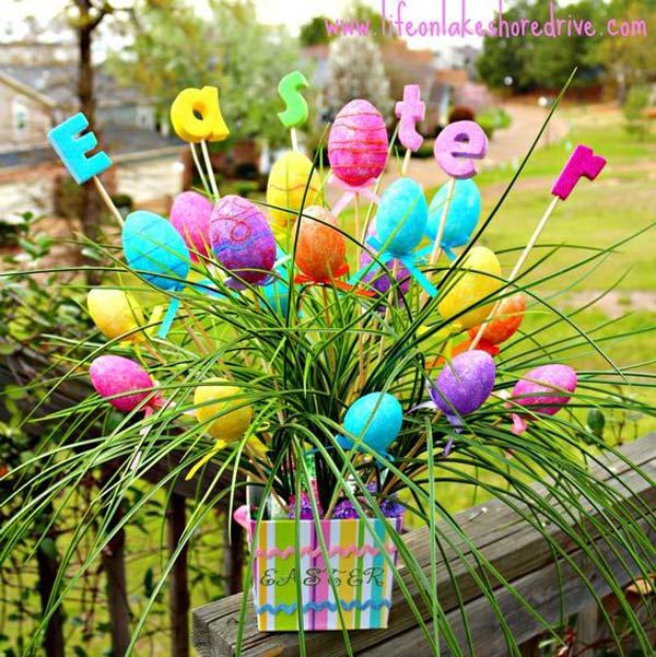Easter Outdoor Decor Ideas 6