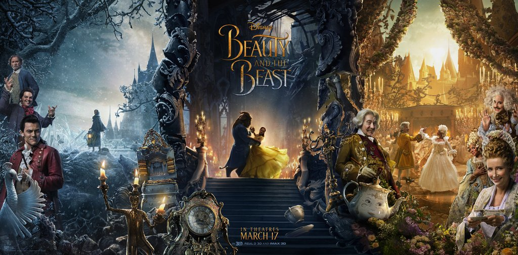 Beauty Beast 2017 Movie Posters 2