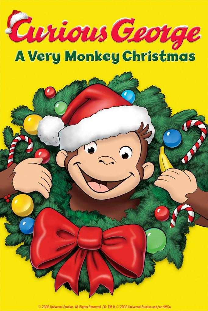 Curious George Very Monkey Christmas