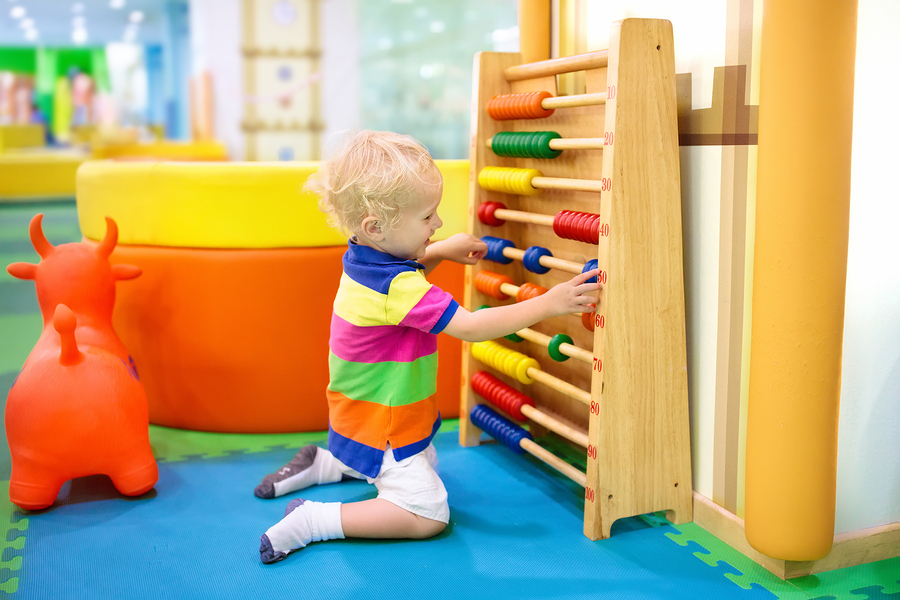 bigstock Abacus At Kindergarten Educat 225681211