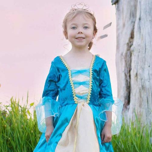 μπλε πριγκίπισσα αποκριάτικη στολή