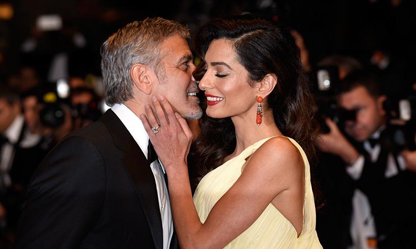 George Clooney Amal Alamuddin 2