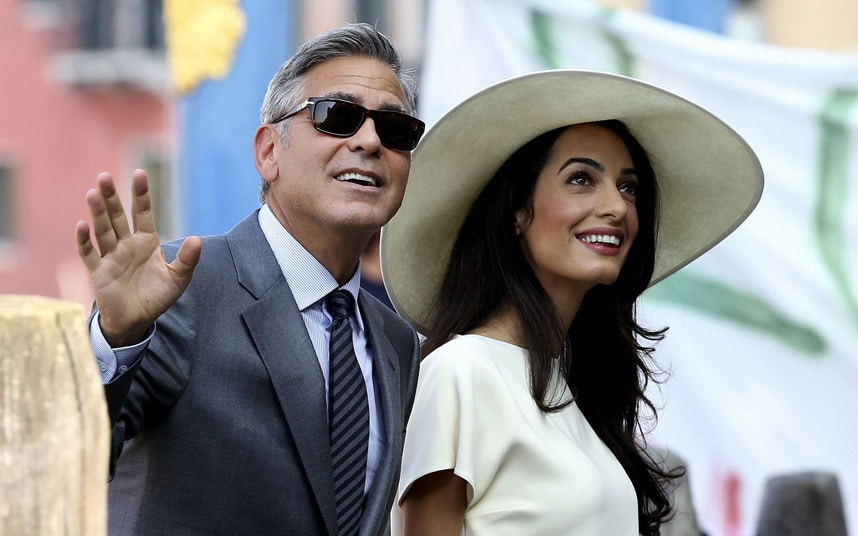 George Clooney Amal Alamuddin 8