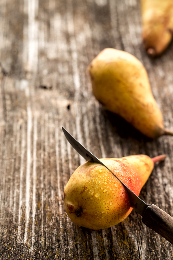 bigstock Ripe And Sweet Pears On Wooden 245876404