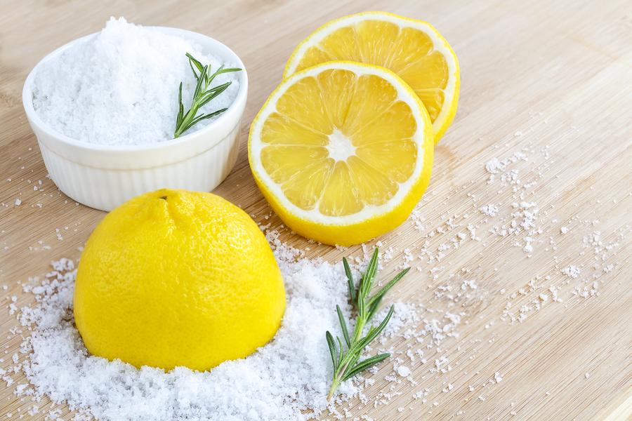 bigstock Lemon And Sea Salt Beauty Tr 250075519
