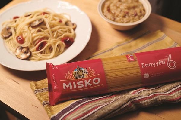 MISKO Spaghetti me tomatinia manitaria