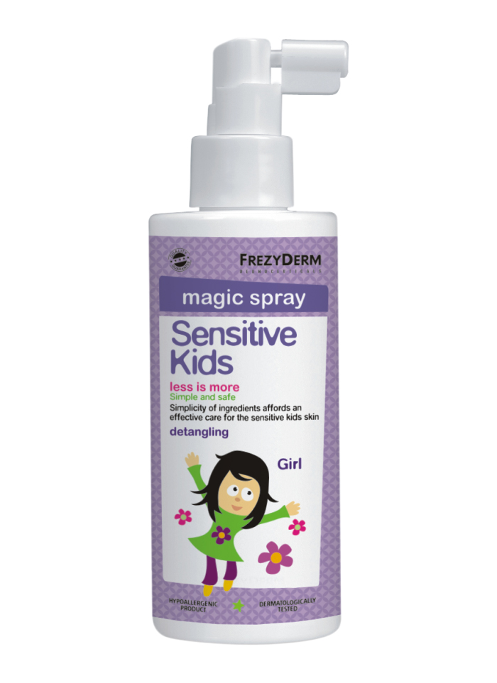Frezyderm Sensitive Kids Magic Spray for Girls