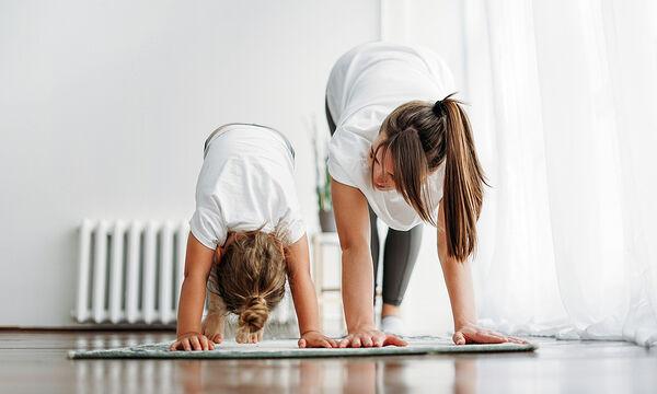 gymnastiki gia nipia kai mamades