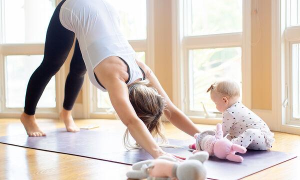 gumnastiki mamas mazi me mwro