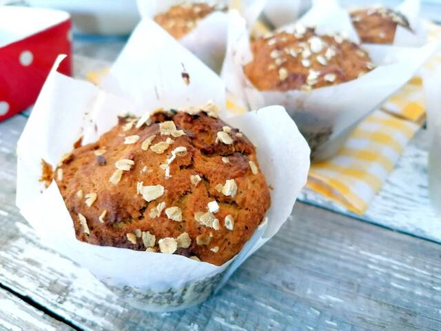 muffins karotou