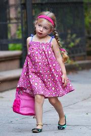 Με στυλ και φαντασία την πρώτη μέρα στο νηπιαγωγείο οι δίδυμες κόρες της Σάρα Τζέσικα Πάρκερ!