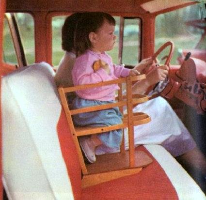Δείτε πώς ήταν τα πρώτα παιδικά καθισματάκια αυτοκινήτου πριν από 40 χρόνια!