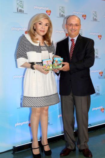 PLAYMOBIL play & give 2013: Για 2η συνεχή χρονιά στο πλευρό του Συλλόγου Φίλων Παιδιών με καρκίνο ΕΛΠΙΔΑ