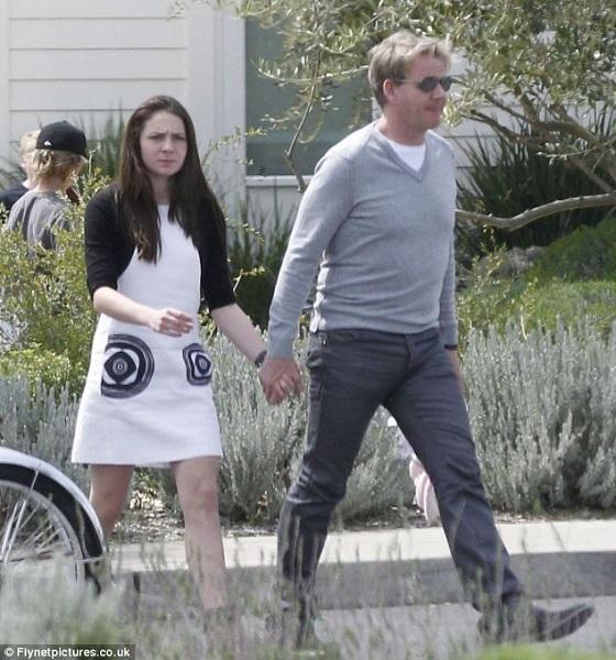 Ο σεφ Ράμσεϊ παραδέχθηκε πως παρακολουθεί την 15χρονη κόρη του με κρυφή κάμερα (φωτογραφίες)