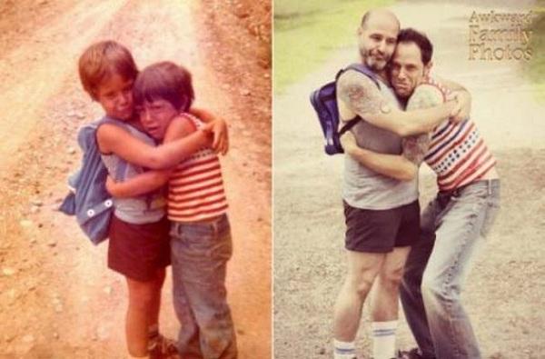 Το παρελθόν και το παρόν μέσα από μοναδικές φωτογραφίες! (εικόνες)