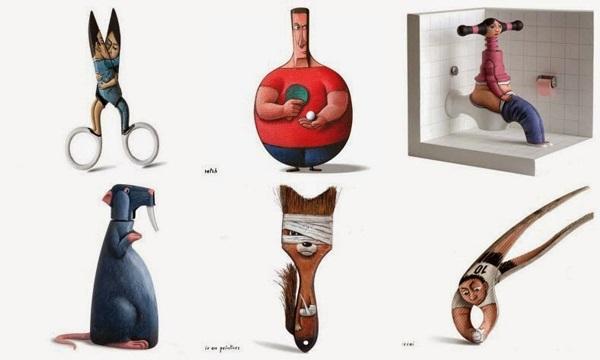 Απίστευτο. Δείτε σε τι μεταμορφώνονται τα αντικείμενα του σπιτιού μας (εικόνες)