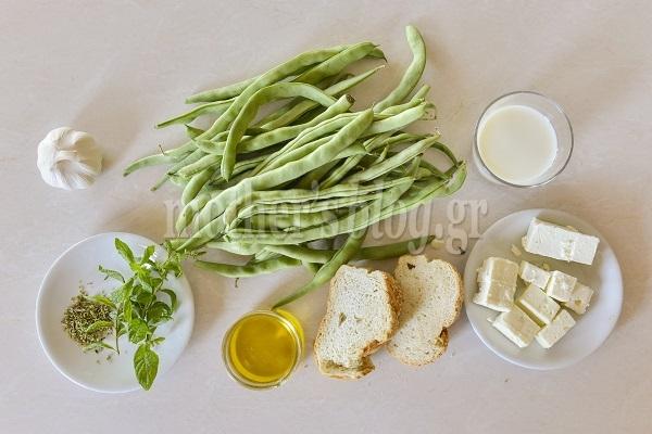 Συνταγή για υπέροχη σαλάτα με φρέσκα φασολάκια και σάλτσα φέτας από τον Γιώργο Γεράρδο