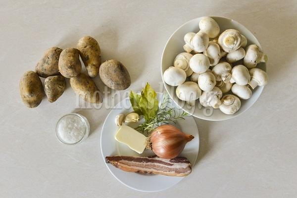 Συνταγή για σούπα μανιταριού με μυρωδικά, από τον Γιώργο Γεράρδο