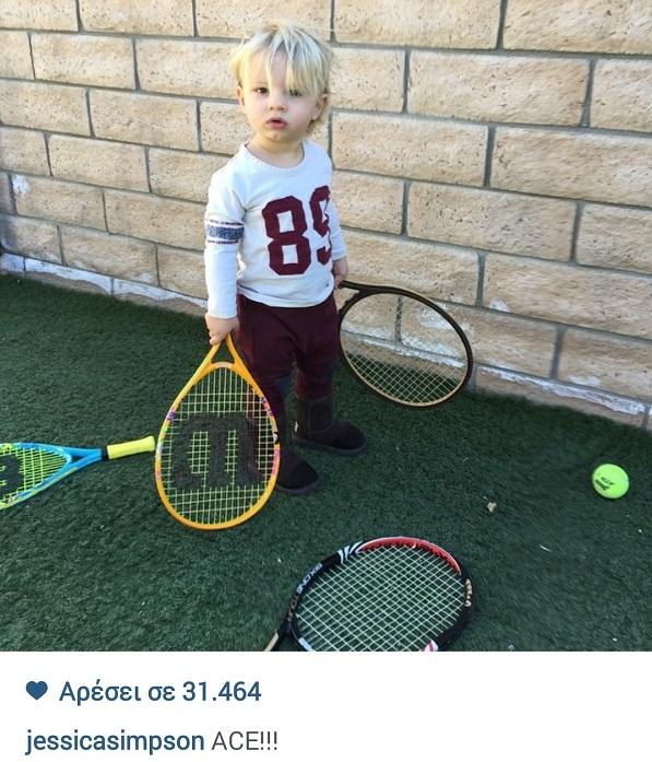 Τζέσικα Σίμπσον: Δείτε με τι άθλημα έχει ξετρελαθεί ο γιος της! (εικόνα)