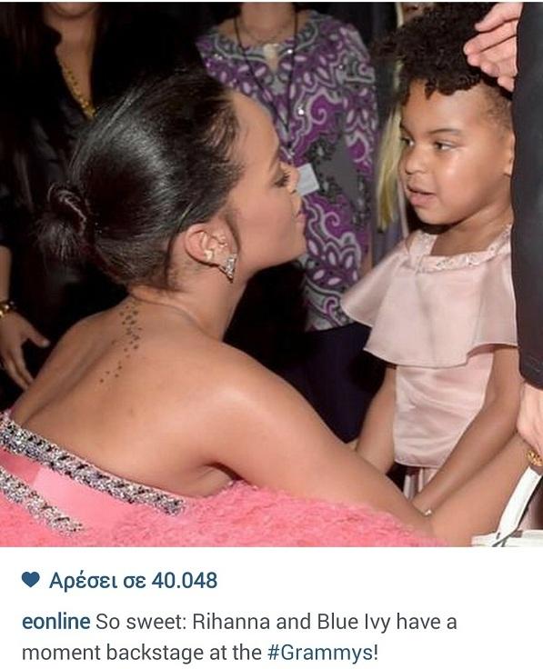 Με ποια πασίγνωστη τραγουδίστρια μίλησε η κόρη της Μπιγιονσέ; (εικόνα)