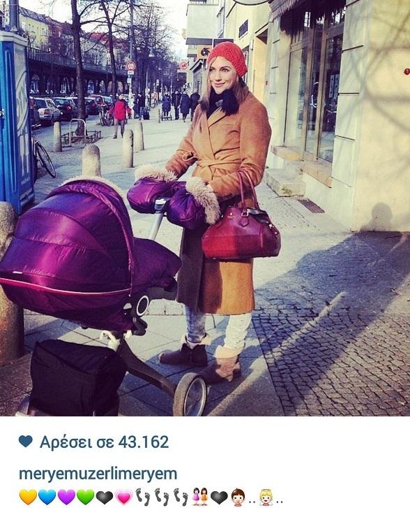 Μεριέμ Ουζερλί: Δεν πάει ο νους σας τι καρότσι έχει για την κόρη της! (εικόνα)