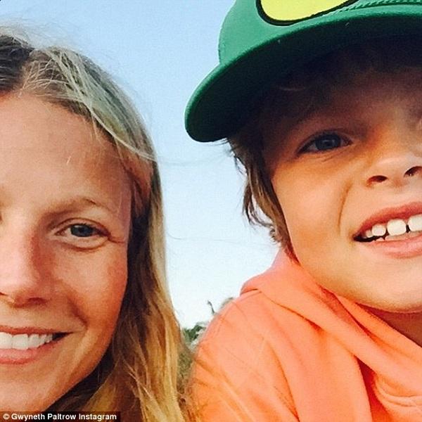 Γκουίνεθ Πάλτροου: Δείτε πώς ευχήθηκε στον 9χρονο γιο της για τα γενέθλιά του! (εικόνα)