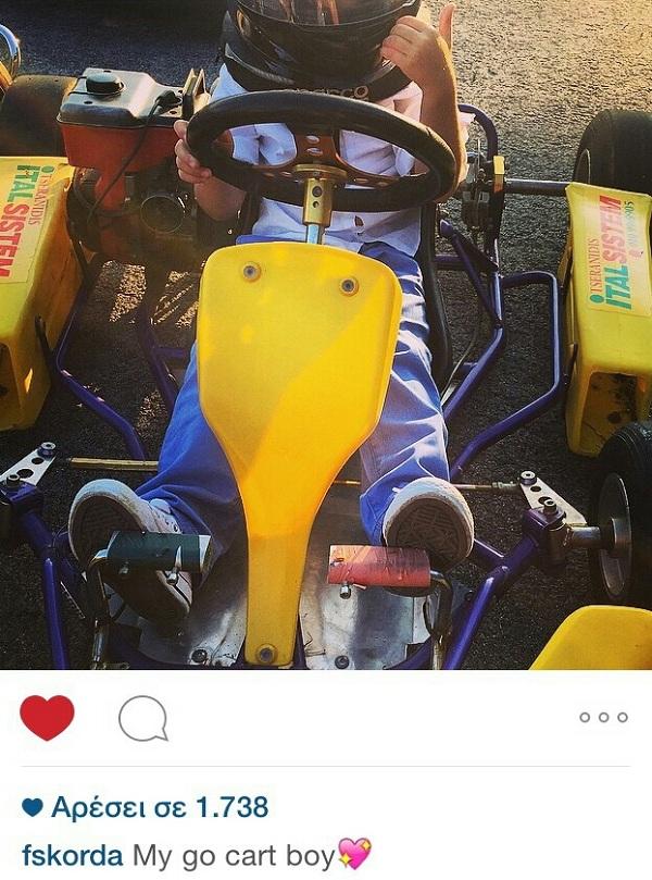 Φαίη Σκορδά: Δείτε πού πήγε με το γιο της κι εκείνος τρελάθηκε! (εικόνα)