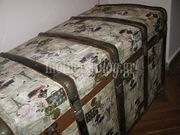 Μεταμορφώστε το παλιό μπαούλο της γιαγιάς σε ένα vintage έπιπλο για το σαλόνι σας! (εικόνες βήμα-βήμα)
